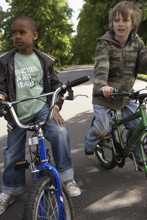 road cycling: Boys on Bicycles