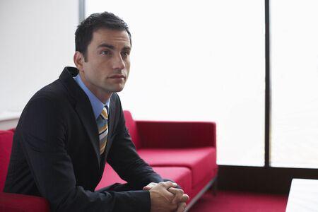 Portrait of Businessman Indoors