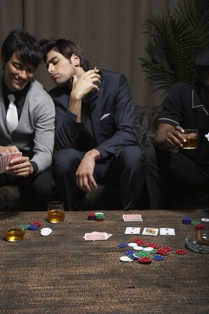 goodluck: Men Playing Cards LANG_EVOIMAGES
