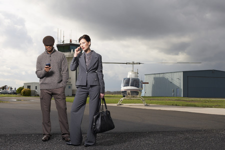 salespeople: Business People at Airport