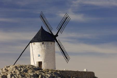 non: Exterior of Windmill, Castilla La Mancha, Ciudad Real Province, Spain