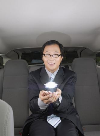 run down: Businessman in Car LANG_EVOIMAGES