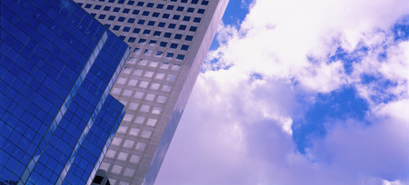 repeated: Office Tower and Sky, Calgary, Alberta, Canada LANG_EVOIMAGES