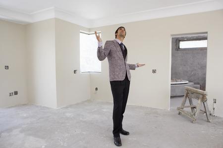 Interior Designer Looking at House