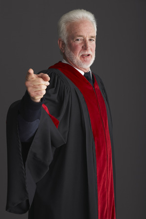 disapprove: Portrait of Judge