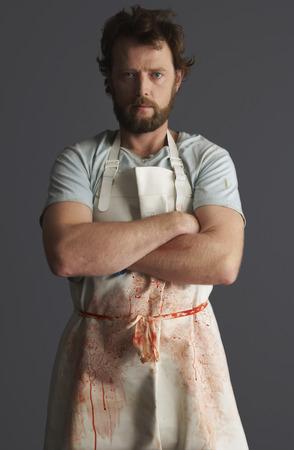 discolorations: Portrait of Butcher