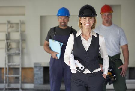 Portrait of Group of Contractors LANG_EVOIMAGES