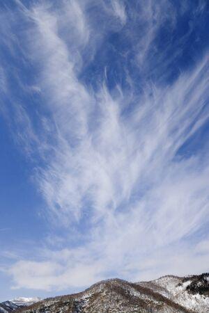 cirrus: Cirrus Clouds, Hokkaido, Japan LANG_EVOIMAGES
