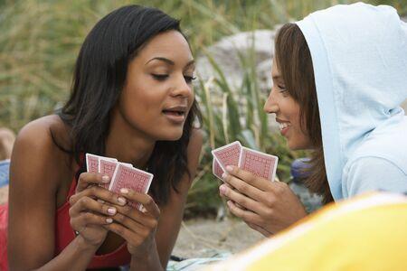 goodluck: Women Playing Cards