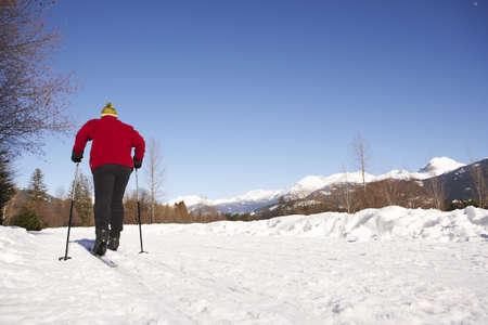 adventuresome: Man Skiing