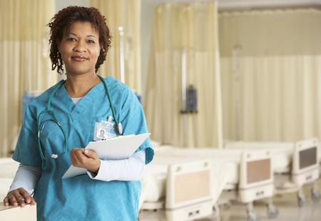 surgical department: Portrait of Nurse
