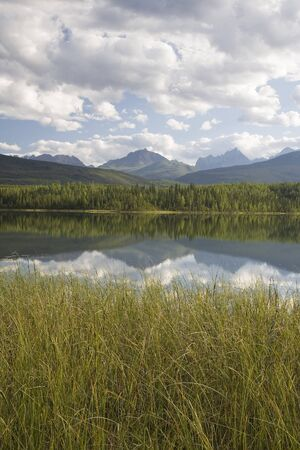 Rabbitkettle Lake, Nahanni National Park Reserve, North West Territories, Canada