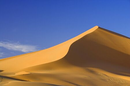 ridge of wave: Sand Dune, Jabal Akakus, Libya