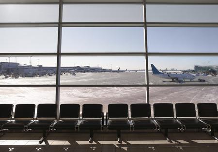 without windows: Toronto Pearson International Airport, Toronto, Ontario, Canada