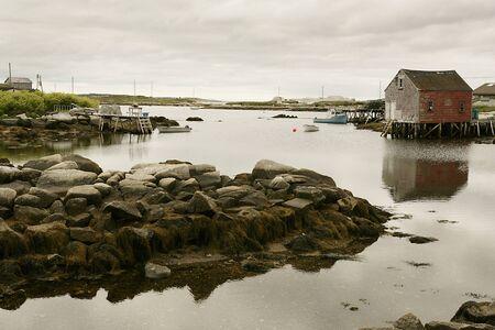 down beat: St Margarets Bay, Nova Scotia, Canada LANG_EVOIMAGES