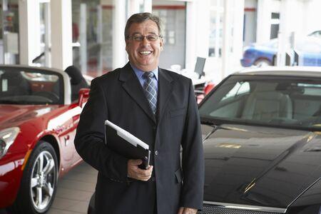 Portrait of Car Salesman