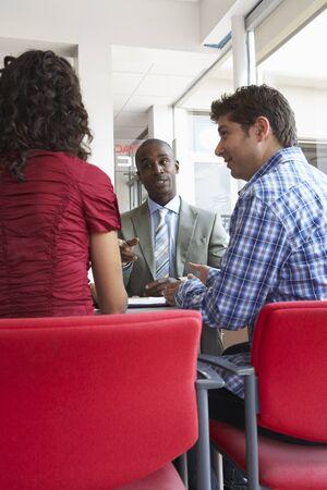 salespeople: Couple With Salesman
