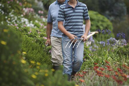 grampa: Grandfather and Grandson Gardening