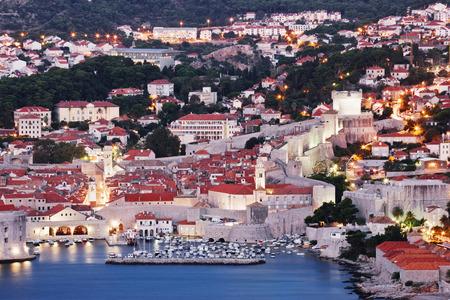 oceanic: Old City of Dubrovnik at Dawn, Croatia
