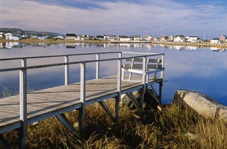 oceanic: Boardwalk and Coastal Town, Bonavista, Newfoundland, Canada