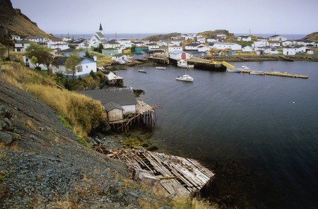 oceanic: Overview of Harbour Mille, Newfoundland, Canada