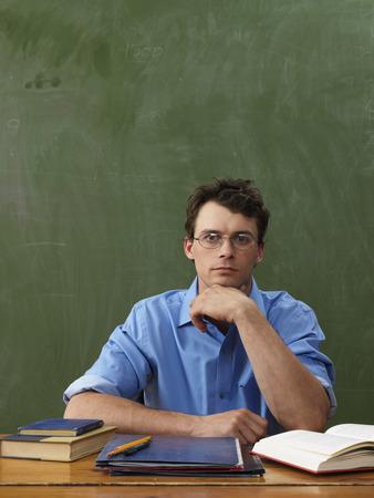 vocational high school: Portrait of Teacher