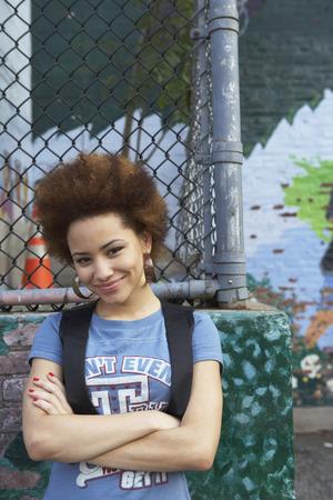 post secondary schools: Portrait of Teenaged Girl