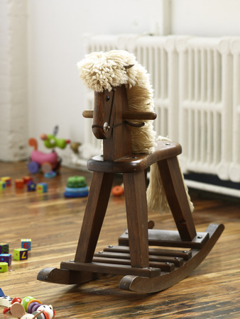 Rocking Horse in Childs Room