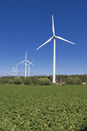 Wind Turbines, Gaspe, Quebec, Canada