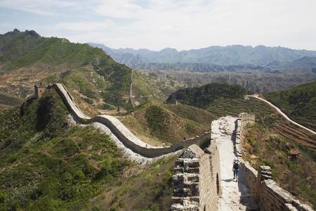 The Great Wall From Jinshanling to Simatai, China
