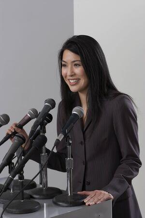 Woman Giving Speech LANG_EVOIMAGES