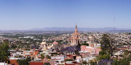 san miguel arcangel: City Skyline, San Miguel de Allende, Guanajuato, México