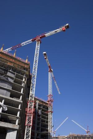 heavy industry: Construction at CityCenter Las Vegas, Las Vegas, Nevada, USA