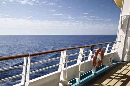 oceanic: Deck of Cruise Ship