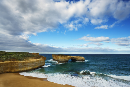 oceanic: Coastal Rock Formations, Port Campbell National Park, Victoria, Australia