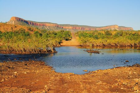 travelled: Pentecost River Crossing and Cockburn Ranges, Gibb River Road, Kimberley, Western Australia, Australia