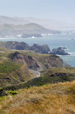 oceanic: Overview of Highway 1, California, USA LANG_EVOIMAGES