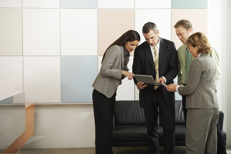 explained: Group of Business People in Office