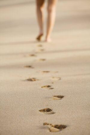 Footprints in Sand LANG_EVOIMAGES