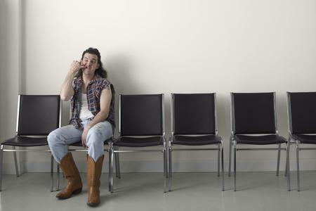 Redneck in Waiting Area