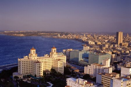 west end: Aerial View of Havana, Cuba LANG_EVOIMAGES