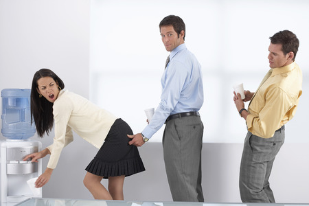 harassing: Businesspeople