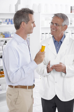explained: Pharmacist Talking to Client