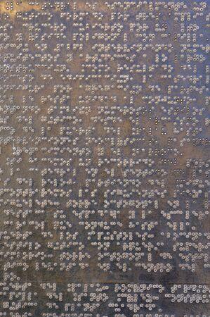 braille: Braille Plaque