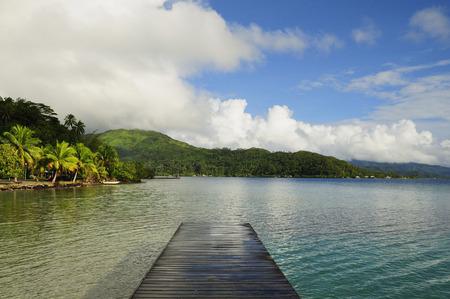 oceanic: Dock on Ocean, Raiatea, French Polynesia