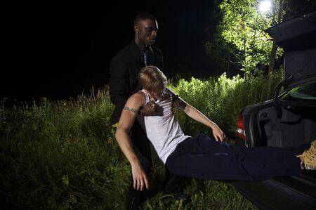 skepticism: Man Disposing of Mans Body