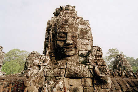 cambodge: Stone Sculptures, Angkor Wat, Siem Reap, Cambodia LANG_EVOIMAGES