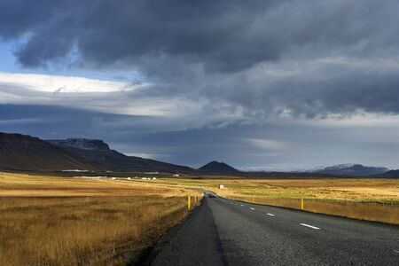 travelled: Road and Landscape, Snaefellsnes, Iceland