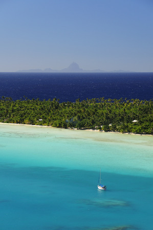 adventuresome: Overview of Coast, Maupiti, French Polynesia LANG_EVOIMAGES