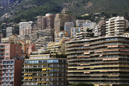 Highrise Buildings in Monaco, Cote dAzur, France